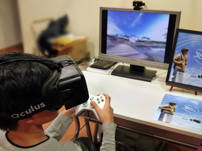 UNITYとOculusを組み合わせた「恐竜VR」