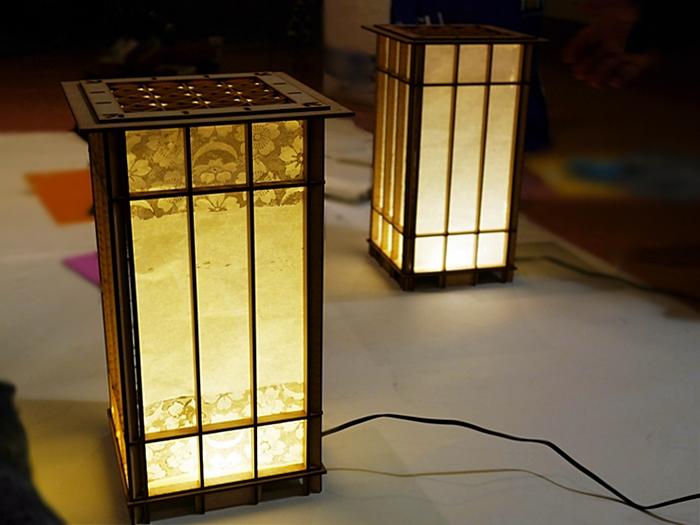 デジタル組子行灯プロジェクト