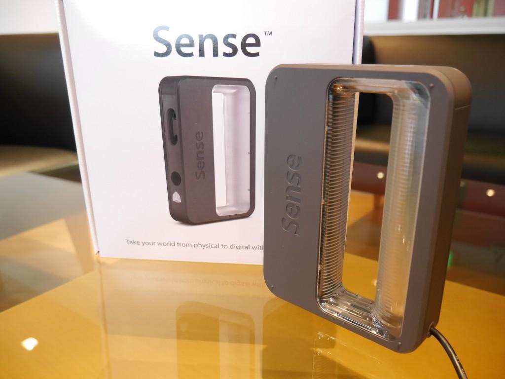 イメディオ「Makersラボ」3Dスキャナー「Sense」利用貸出